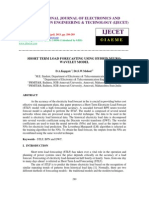 Short Term Load Forecasting Using Hybrid Neuro- Wavelet Model