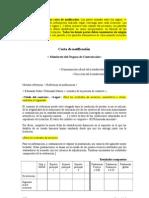 Formato de Carta de notificación