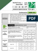 LP1 GUÍA TP1 B 2013 clases 8-9