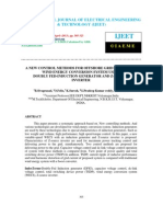 A New Control Methods for Offshore Grid Connected Wind Energy Conversion System Using