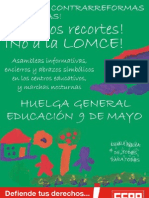 Diptico Huelga 9 Mayo