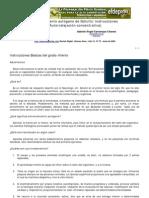 AAA Entrenamiento Autogeno de Schultz-Instrucciones