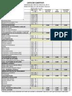 DC15 Lista de Cantitati Fara Valori