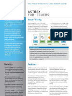 Astrex for Issuers