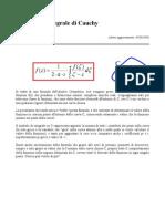 Formula Integrale Cauchy