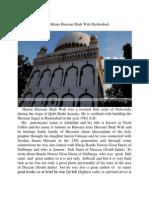 Hazrat Khaja Hussian Shah Wali Hyderabad