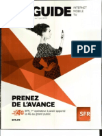 SFR - Le Guide - Du 23 Avril Au 03 Juin 2013