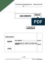 cours labo PARTIE 3 - LES CIMENTS.doc