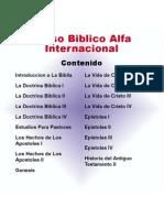 Curso Biblico Alfa Internacional_contenido