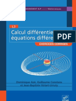 Calcul Differentiel Et Eq