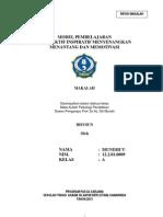 Model Pembelajaran i2m3