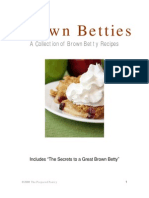 Brown Betty Recipe Collection