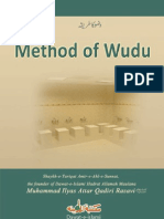 Method of Wudu Hanafi [English]