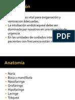 Intubacion endotraqueal