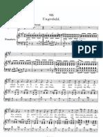 Schubert - Ungeduld - Voz y Piano