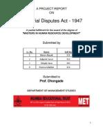 Industrial Disputes Act 1947.docx
