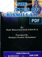 The Virtues Of Bismillah By Mufti Muhammad Shafi Sahib r.a.pdf