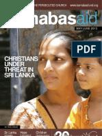 Barnabas Aid May/June 2013