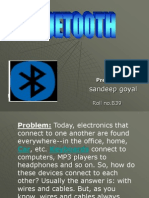 BLUETOOTH.ppt