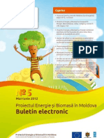 Buletin Electronic bioenergie