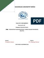 Poslovno Pravo-produzetnik-pojam,Registracije Forme,Trajanje Privrednog Drustva