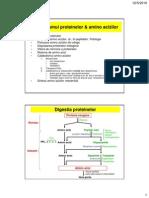 1.Metab. Proteine & Aminoacizi