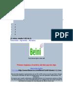 Manual de Beini 1.2.3
