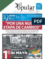 El Popular Nº 221 26/04/2013 Todo PDF Órgano de prensa del Partido Comunista de Uruguay