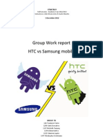 Samsung vs HTC Strategic Analysis. C. Grohmann