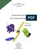 Samsung vs HTC Strategic Analysis. C. Grohmann