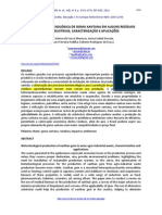 PRODUÇÃO BIOTECNOLÓGICA DE GOMA XANTANA EM ALGUNS RESÍDUOS