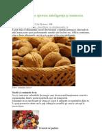 Alimentele care sporesc inteligenţa şi memoria