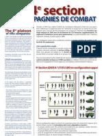 4eme Section Dans La Compagnie de Combat