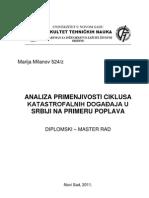 Master Rad - Upravljanje Vanrednim Situacijama Tehnicki Fax