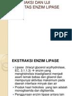 Ekstraksi Dan Uji Aktivitas Enzim Lipase (1)