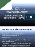 Poder Judiciário e Funções essenciais à Justiça
