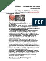 Archivo sobre toxicidad y contaminación con metalesnª1