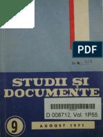 Studii Si Documente 1971-09