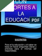 FILOSOFOS-EDUCACION