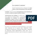 DETERMINACIÓN DEL UNIVERSO Y LA MUESTRA