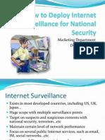 03 Deployment for Internet Surveillance