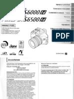 Manuale - Fuji FinePix S6500fd - ITA