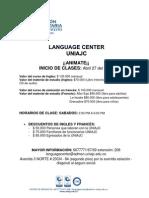 Ingles y Frances Uniajc.