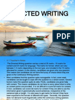 Directed Writing