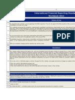 IFRS Compliance PresentationAndDisclosureChecklist 2012