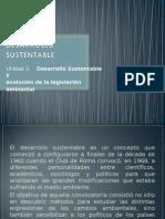 DESARROLLO SUSTENTABLE Unidad 3 jpe.ppt