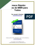 Comece Rápido - Lições de MMN Para Todos- Jacob Paulsen - BR