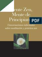 Shunryu Suzuki Mente Zen Mente de Principiante
