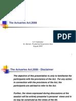 Actuaries Act 2006