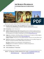 Marian Pilgrimage 4 28 2013